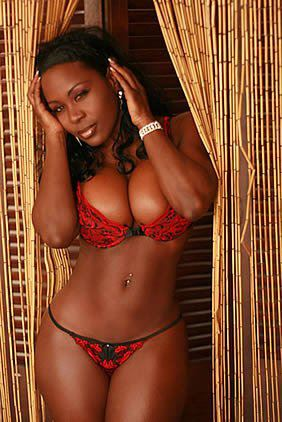 Sexy black women models